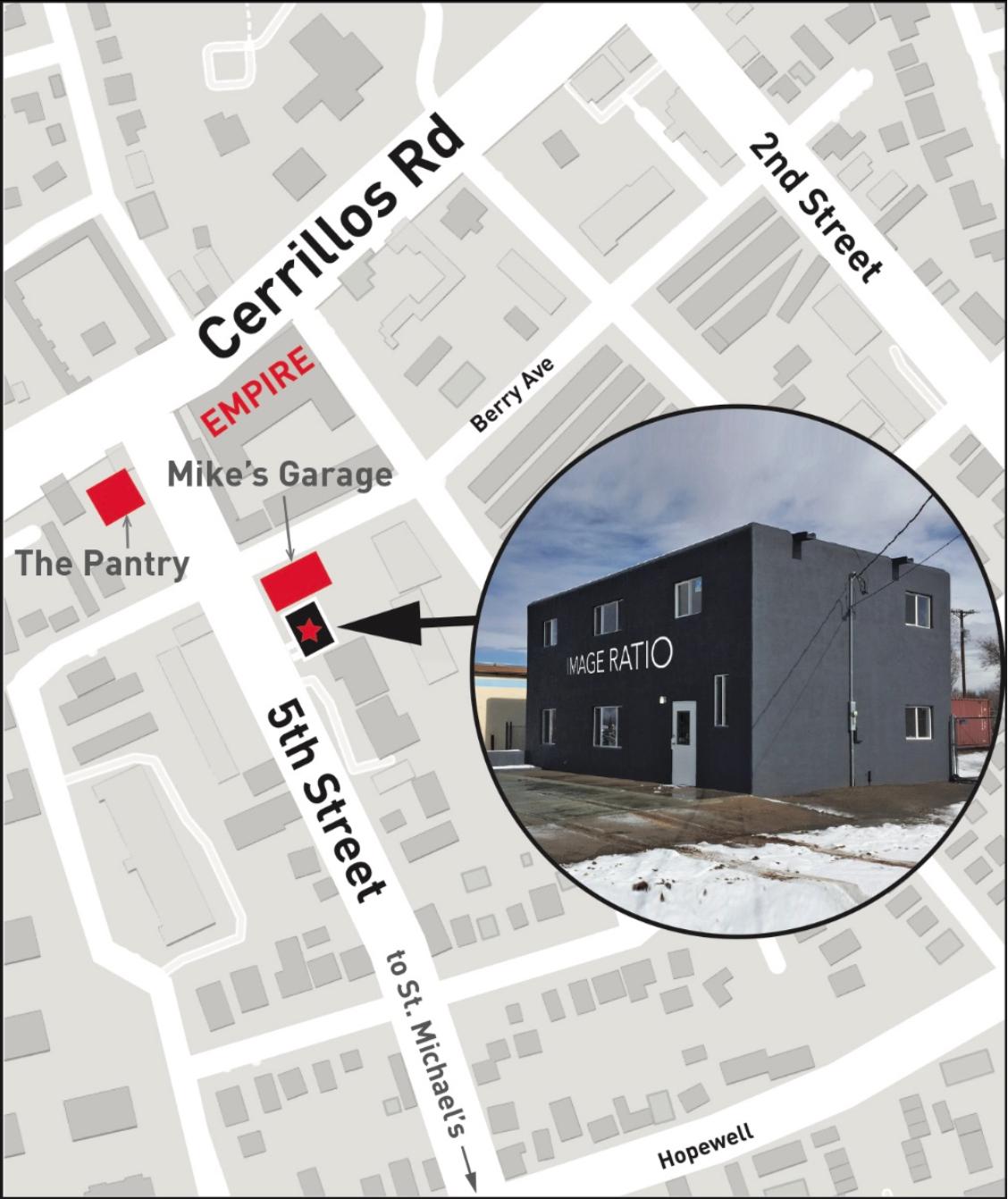 1505 5th Street map